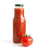 Tomato and tomato juice Royalty Free Stock Images