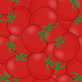 Tomato vector. A lot of red tomatoes. Seamless pattern background tomatoes. Stock Images