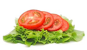 Tomato Vegetable And Lettuce Royalty Free Stock Image