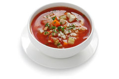 Tomato vegetable soup Royalty Free Stock Image