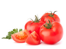 Tomato vegetables and parsley leaves still life Royalty Free Stock Photo