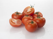 Tomato vegetables pile isolated on white background cutout Stock Photography