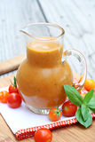 Tomato Vinaigrette Stock Photos