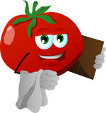 Tomato waiter Stock Photography