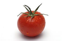Tomato with water droplets Royalty Free Stock Photography