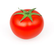 Tomato on white. Background with clipping path stock photography