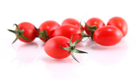 Tomato on a white background. Royalty Free Stock Photography