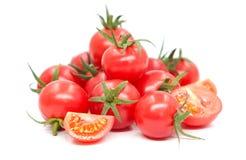 Tomato on white background. Tomato isolated on white background Royalty Free Stock Photo