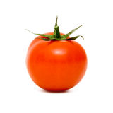 Tomato  on white background Royalty Free Stock Images