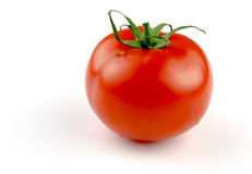 Tomato on white. with clipping path Stock Photography