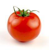 Tomato on white. with clipping path Royalty Free Stock Photo