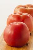 Tomato on white Royalty Free Stock Photo