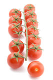 Tomato on white close up Royalty Free Stock Photography