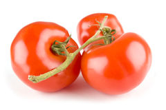 Tomato on white Stock Photography