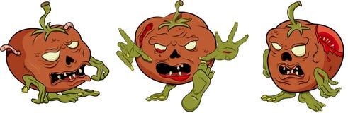 Tomato zombie Stock Photo