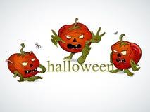 Tomato zombie Stock Image