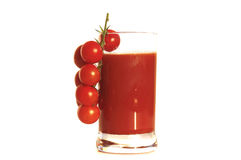 Tomatodrink Stock Afbeelding