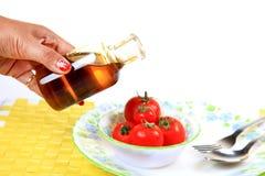 tomatoe диетпитания Стоковое фото RF