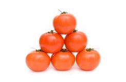 Tomatoe pyramid Royalty Free Stock Photos