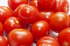 Tomatoe rojo italiano de la cereza Foto de archivo