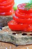 Tomatoe salad Stock Image