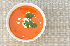 Tomatoe soup Royalty Free Stock Images