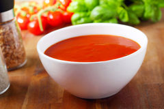 Tomatoe soup Stock Photography
