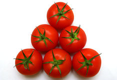 Tomatoes. Bunch of tomatoes Stock Photo