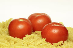 Tomatoes. Are the first ingredient for many dishes Stock Photo