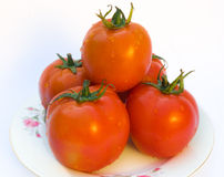 Tomatoes. Bright,fresh and healthy tomatoes Stock Photography