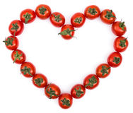 Tomatoes Heart Stock Images