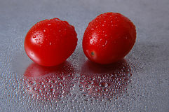 Tomatoes. Still life with grape tomatoes Stock Photo