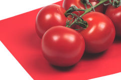 Tomatoes abstract Stock Image