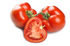 Tomatoes on the balance Stock Images
