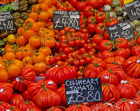 Tomatoes at Borough Market Royalty Free Stock Image