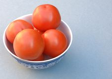 Tomatoes in Bowl. Fresh red tomatoes in a bowl Stock Photo