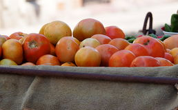 Tomatoes On Cart In Havana Cuba Royalty Free Stock Photo