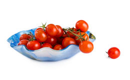Tomatoes of cherry Royalty Free Stock Images