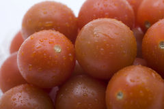 Tomatoes Cherry - Close Up Stock Photos