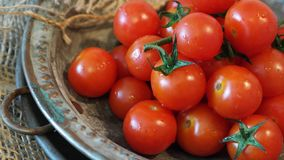 Tomatoes, Cocktailtomaten, Red Stock Images