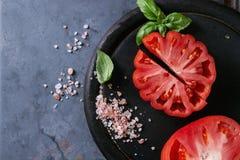 Tomatoes Coeur De Boeuf. Beefsteak tomato Stock Images