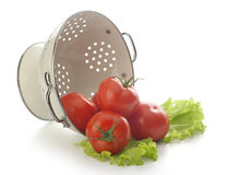 Tomatoes in the colander Royalty Free Stock Images