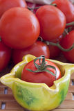 Tomatoes and cucumber Royalty Free Stock Photography