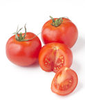Tomatoes cut Stock Image
