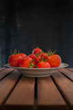 Tomatoes dish Royalty Free Stock Photo