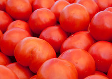 Tomatoes at a farmers' market Stock Photos