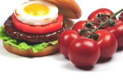 Tomatoes and food Royalty Free Stock Photography