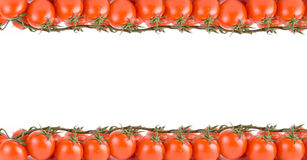 Tomatoes frame Royalty Free Stock Photo