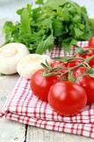 Tomatoes сherry Stock Images