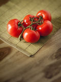 Tomatoes. An image of some red tomatoes stock photography